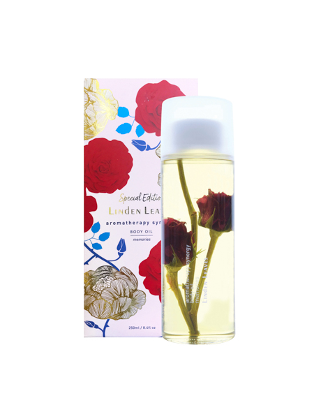 LINDEN LEAVES LIMITED EDITION AROMATHERAPY SYNERGY MEMORIES BODY OIL