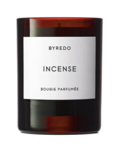 BYREDO INCENSE CANDLE AVAILABLE FROM MECCA.