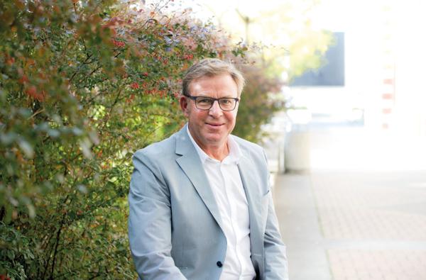 Mike Fowler Principal of Hagley College