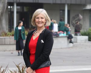 Gillian Simpson Principal of St Margaret's College
