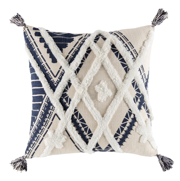 KAS AUSTRALIA DAYO NAVY CUSHION