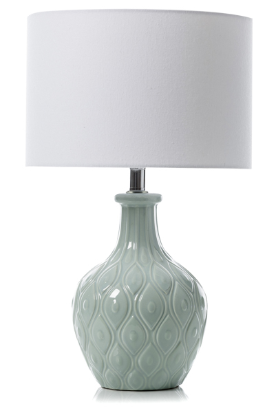 ADAIRS MERCER + REID CERAMIC LAMP