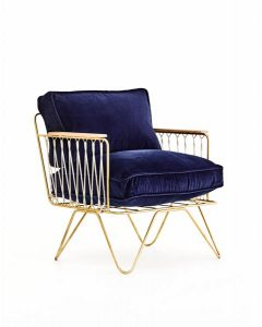 BASTILLE AND SONS CROISETTE ARMCHAIR